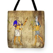 Gods Of Ancient Egypt Tote Bag