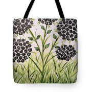 God's Only Me Wildflower  Tote Bag