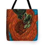 God's Supportive Hand Tote Bag
