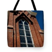 Gods Window St. Mary's In The Mountains Catholic Church Tote Bag