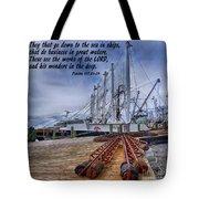 God's Wonders In The Deep Tote Bag