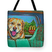 Goin' To Mickey D's With My Peeps Tote Bag
