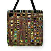 Going And Going Abstract Tote Bag