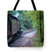 Going Around The Bend Tote Bag