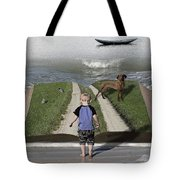 Going Back Home Tote Bag