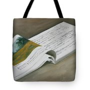 Going By The Book Tote Bag