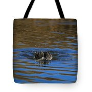 Going Down - A Duck Tale Tote Bag