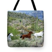 Going For A Run Tote Bag