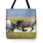 Going For The Knees Tote Bag