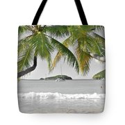 Going Green To Save Paradise Tote Bag