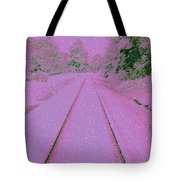 Going Home For Christmas Tote Bag by Donna Bentley