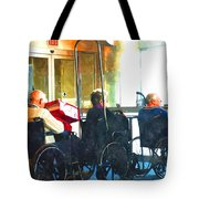 Going Home To Loved Ones Tote Bag