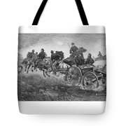 Going Into Battle - Civil War Tote Bag