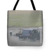 Going Out To The Barn Tote Bag