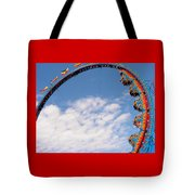 Going 'round In Circles Tote Bag