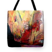 Going Through The Fire 3 Tote Bag