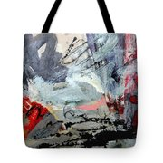 Going Through The Fire 4 Tote Bag
