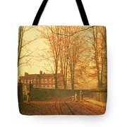 Going To Church Tote Bag