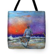 Going To Fish Tote Bag