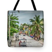 Going To The Bridge At The Split Tote Bag