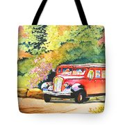 Going To The Sun Tote Bag