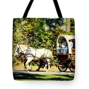 Going To Town Tote Bag