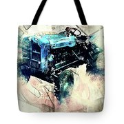 Going To Work Tote Bag