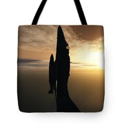 Going Vertical Tote Bag