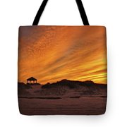 Gold Above Them Thar Dunes Tote Bag
