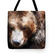 Bear // Gold Tote Bag