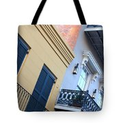 Gold And Gray In New Orleans Tote Bag