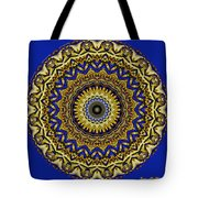 Gold And Sapphires  Tote Bag