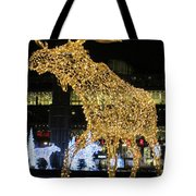 Gold And Silver Tote Bag