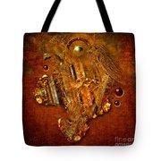 Gold Angel Tote Bag