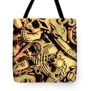 Gold Aquarium Tote Bag