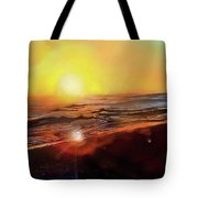 Gold Beach Oregon Sunset Tote Bag