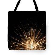Gold Bloom Tote Bag