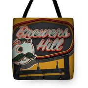 Gold Brewers Hill Tote Bag