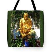 Gold Buddha 4 Tote Bag