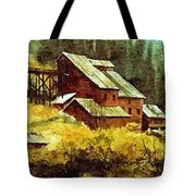Gold Coin Mine Montana Tote Bag