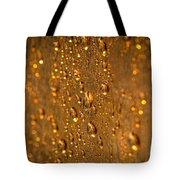 Gold Drops Tote Bag