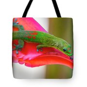 Gold Dust Day Gecko 3 Tote Bag