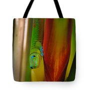 Gold Dust Day Gecko Tote Bag