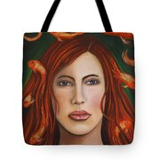 Gold Fish 9 Tote Bag