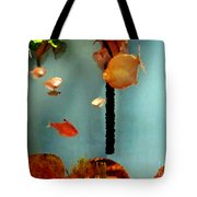 Gold Fish Life Tote Bag