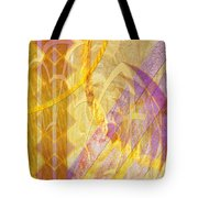 Gold Fusion Tote Bag