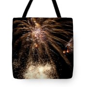 Gold In Space Tote Bag