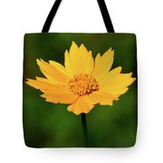Gold In The Garden Tote Bag