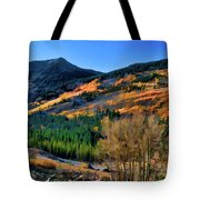 Gold In The Rockies Tote Bag
