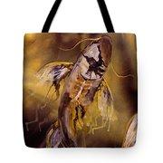 Gold Koi Tote Bag